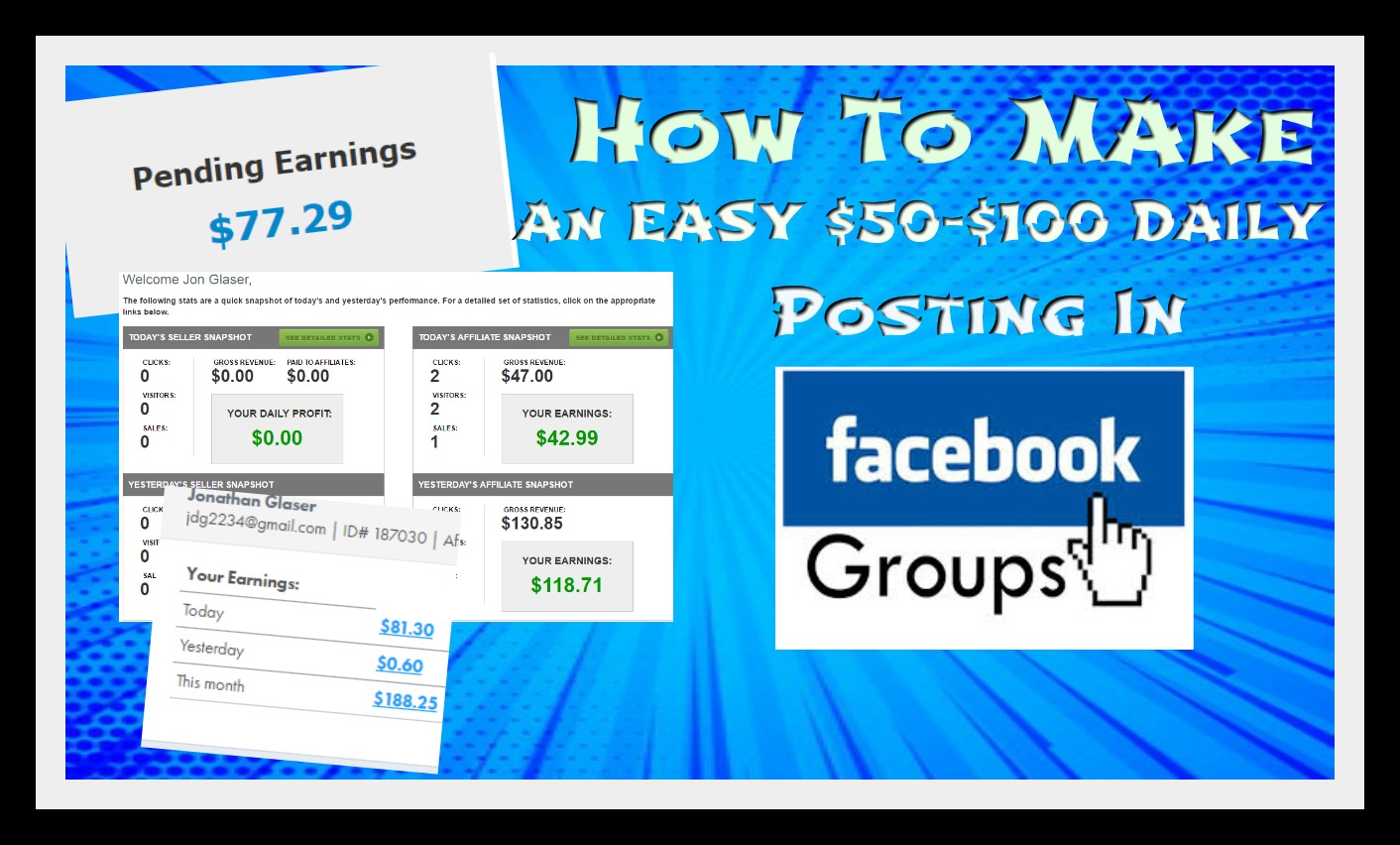 Facebook Groups Secrets: How To Make $50-$100 Daily